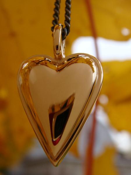 Stora Mariahjärtat guld