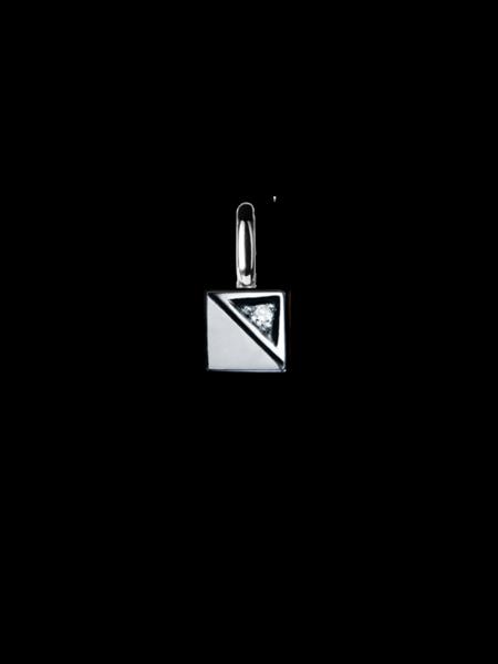 Glimten hängsmycke vitguld 1 diamant