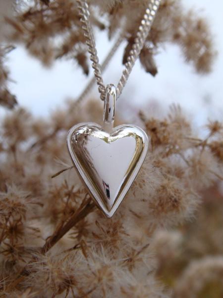 Lilla Mariahjärtat silver