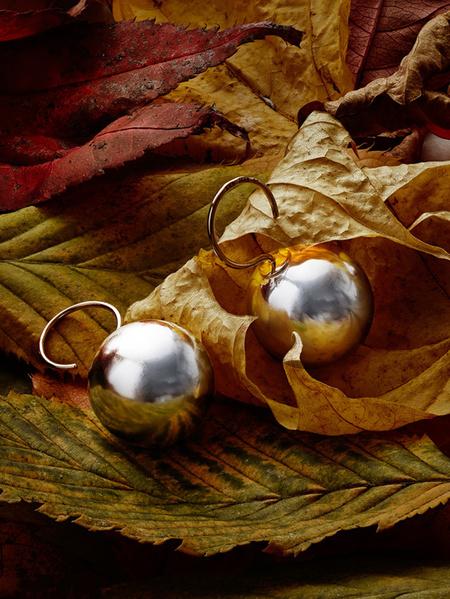 Silvermåne silver guld