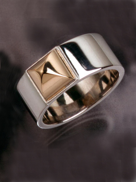 Kajsa ring vitguld/guld