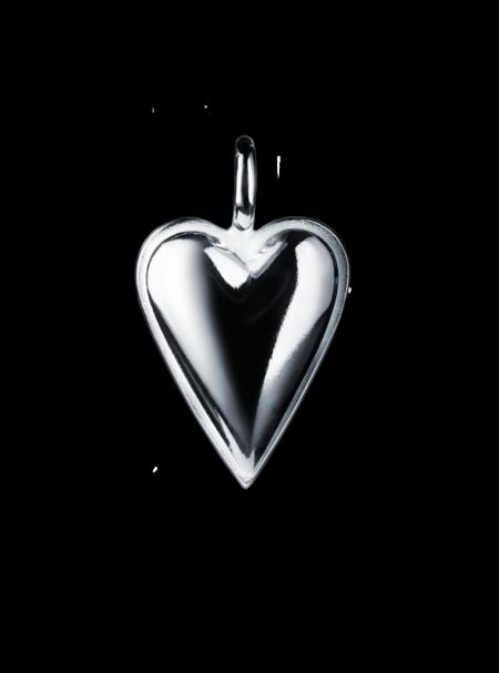 Stora Mariahjärtat silver
